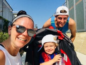 Running is a family affair for Kerri.