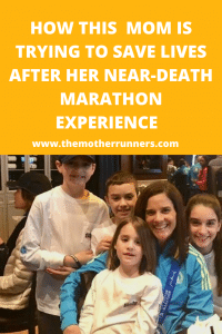Kristin Partenza ran a marathon with blood clots in her lungs and miraculously survived.