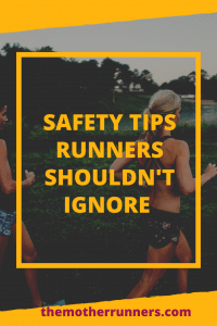 Safety tips runner shouldn't ignore