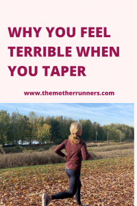 Why you feel terrible when you taper