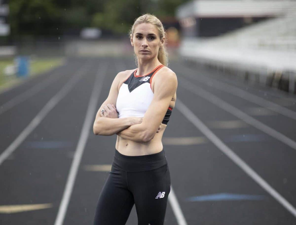 Sarah Brown, ex-pro runner for New Balance