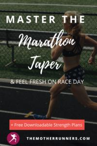 master the marathon taper