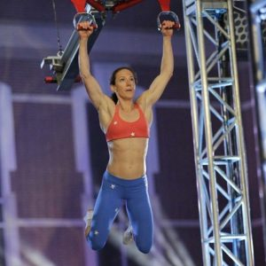 Rose Wetzel on American Ninja Warrior