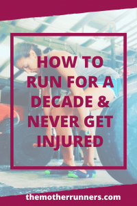 How to run and not get injured