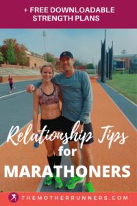 relationship tips for marathoners