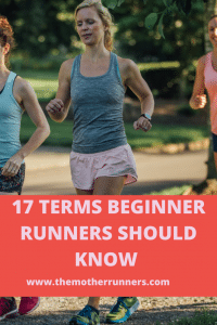 17 terms a beginner runner should know