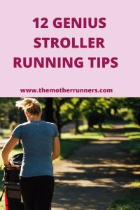12 genius stroller running tips