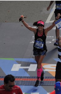 Connie credits her Lyme disease diagnosis with helping her fall in love with running.