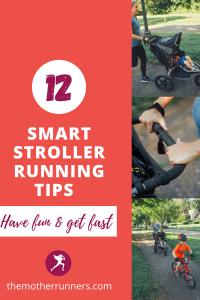 smart stroller running tips