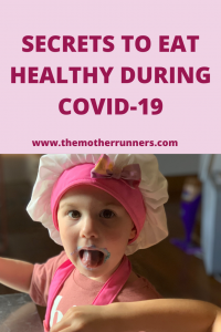 Tips to eat healthy during COVID-19