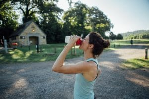 Hydration is essential for runners.