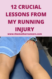 lessons learning from my hamstring injury