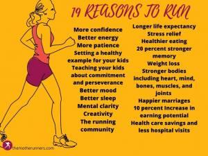 19 reasons to run