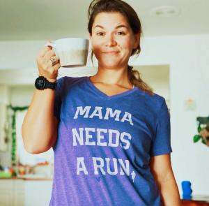 Mama needs a run