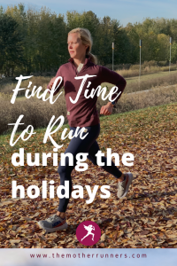 find time to run during the holidays