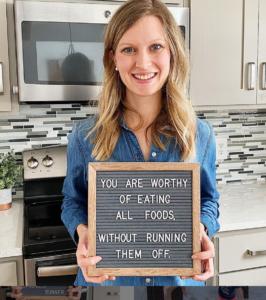 Nutritionist Kristy Baumann