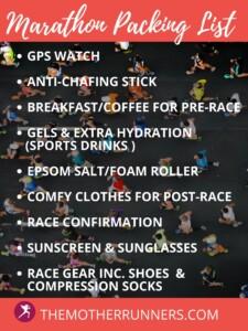 marathon-packing-list