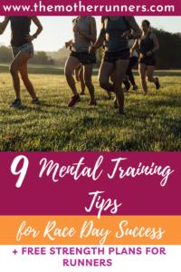 mental training tips for runners